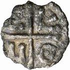 Photo numismatique  ARCHIVES VENTE 2009 -Coll B CHWARTZ 1 CAROLINGIENS CHARLEMAGNE, roi (768-800) empereur (800-814) Premier type (768 - avant 793/794) 74- Denier d'Avignon (Vaucluse)