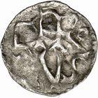 Photo numismatique  ARCHIVES VENTE 2009 -Coll B CHWARTZ 1 CAROLINGIENS CHARLEMAGNE, roi (768-800) empereur (800-814) Premier type (768 - avant 793/794) 75- Denier de Carcassonne (Aude)