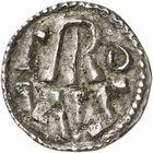 Photo numismatique  ARCHIVES VENTE 2009 -Coll B CHWARTZ 1 CAROLINGIENS CHARLEMAGNE, roi (768-800) empereur (800-814) Premier type (768 - avant 793/794) 78- Denier de L'Ecluse (Belgique)