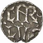 Photo numismatique  ARCHIVES VENTE 2009 -Coll B CHWARTZ 1 CAROLINGIENS CHARLEMAGNE, roi (768-800) empereur (800-814) Premier type (768 - avant 793/794) 82- Denier de Marseille (Bouches-du-Rhône)