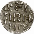 Photo numismatique  ARCHIVES VENTE 2009 -Coll B CHWARTZ 1 CAROLINGIENS CHARLEMAGNE, roi (768-800) empereur (800-814) Premier type (768 - avant 793/794) 85- Denier de Saint-Firmin d'Amiens (Somme)