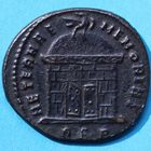 Photo numismatique  MONNAIES EMPIRE ROMAIN ROMULUS (fils de Maxence +309)   Follis réduit, Rome, 310-311.