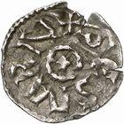 Photo numismatique  ARCHIVES VENTE 2009 -Coll B CHWARTZ 1 CAROLINGIENS CHARLEMAGNE, roi (768-800) empereur (800-814) Premier type (768 - avant 793/794) 86- Denier de Saint-Martin de Tours (Indre-et-Loire)