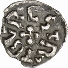 Photo numismatique  ARCHIVES VENTE 2009 -Coll B CHWARTZ 1 CAROLINGIENS CHARLEMAGNE, roi (768-800) empereur (800-814) Premier type (768 - avant 793/794) 88- Denier de Strasbourg (Bas-Rhin)