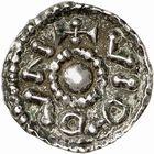 Photo numismatique  ARCHIVES VENTE 2009 -Coll B CHWARTZ 1 CAROLINGIENS CHARLEMAGNE, roi (768-800) empereur (800-814) Premier type (768 - avant 793/794) 89- Denier de Verdun (Meuse)