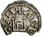 Photo numismatique  ARCHIVES VENTE 2009 -Coll B CHWARTZ 1 CAROLINGIENS LOUIS LE PIEUX, empereur (janvier 814-20 juin 840) Type au buste (814-819) 93- Obole d'Arles (Bouches-du-Rhône)