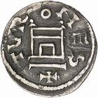 Photo numismatique  ARCHIVES VENTE 2009 -Coll B CHWARTZ 1 CAROLINGIENS LOUIS LE PIEUX, empereur (janvier 814-20 juin 840) Type au buste (814-819) 94- Denier de Tours (Indre-et-Loire)