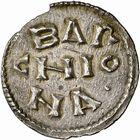 Photo numismatique  ARCHIVES VENTE 2009 -Coll B CHWARTZ 1 CAROLINGIENS LOUIS LE PIEUX, empereur (janvier 814-20 juin 840) Type trilinéaire (à partir de 818) 95- Denier de Barcelone (Espagne)