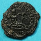 Photo numismatique  MONNAIES EMPIRE ROMAIN HANNIBALIEN (335-337)  Petit bronze.