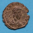 Photo numismatique  MONNAIES EMPIRE ROMAIN ARCADIUS (383-408)  Petit bronze.