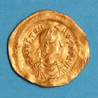 Photo numismatique  MONNAIES EMPIRE BYZANTIN JUSTINIEN Ier (527-565)  Tremissis.