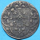 Photo numismatique  JETONS MEREAUX Moyen âge Type monétaire Méreau à la couronne.
