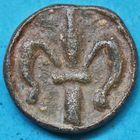Photo numismatique  JETONS PLOMBS DE CORPORATIONS   Méreau à la colombe.