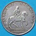 Photo numismatique  JETONS ANCIEN RÉGIME EXTRAORDINAIRE DES GUERRES  Jeton de 1715