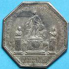 Photo numismatique  JETONS ANCIEN REGIME GALERES Invalides de la Marine Jeton de 1773.