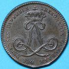 Photo numismatique  JETONS ANCIEN RÉGIME DOMAINES DU ROI Trésorerie Gale des dépenses diverses Jeton.