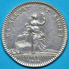 Photo numismatique  JETONS ANCIEN RÉGIME PARIS Agents de Change Jeton de 1758.