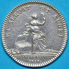 Photo numismatique  JETONS ANCIEN REGIME PARIS Agents de Change Jeton de 1758.