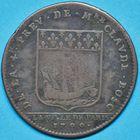 Photo numismatique  JETONS ANCIEN RÉGIME PARIS Claude Bosc, 4e Prévôté Jeton de 1700.