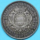 Photo numismatique  JETONS ANCIEN RÉGIME PARIS L. B. de Bernage, 5e Prévôté Jeton de 1753.
