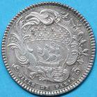 Photo numismatique  JETONS ANCIEN RÉGIME PARIS L. B. de Bernage, 6e Prévôté Jeton de 1754.