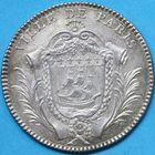 Photo numismatique  JETONS ANCIEN REGIME PARIS J. B. F. de la Michodière, 3e Prévôté Jeton de 1777.