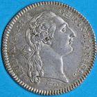Photo numismatique  JETONS ANCIEN RÉGIME PARIS Officiers de la Ville. Payeurs des rentes Jeton daté 1764