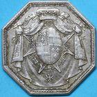 Photo numismatique  JETONS ANCIEN RÉGIME ORDRES DU ROI Ordre du Mont-Carmel et de Saint-Lazare Jeton de 1773.