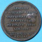Photo numismatique  JETONS ANCIEN REGIME FACULTE DE MEDECINE DE PARIS Doyens Jeton de Th. Baron, 1751.
