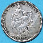 Photo numismatique  JETONS ANCIEN REGIME FACULTE DE MEDECINE DE PARIS Doyens Jeton de E. Cl. Bourru, 1786/1787.