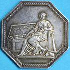 Photo numismatique  JETONS ANCIEN REGIME CORPORATIONS Banques et établissements financiers Jeton de la Caisse d'Escompte.