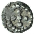 Photo numismatique  MONNAIES PEUPLES BARBARES MEROVINGIENS CITES BOURGES (Cher) Denier du VIIIe siècle.
