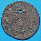 Photo numismatique  JETONS ANCIEN REGIME ARTOIS SAINT-OMER, église Méreau de 1526.