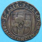 Photo numismatique  JETONS ANCIEN REGIME FLANDRE FRANCAISE LILLE, Fondation de Louis de Croix Jeton de 12 patar.