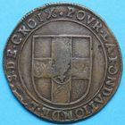 Photo numismatique  JETONS ANCIEN REGIME FLANDRE FRANCAISE LILLE, Fondation de Louis de Croix Jeton de 12 patar