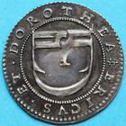 Photo numismatique  JETONS ANCIEN REGIME LORRAINE DOROTHEE de Lorraine et ERIC Jeton de mariage daté 1575.