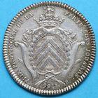 Photo numismatique  JETONS ANCIEN REGIME CHAMPAGNE LA FERTE-SOUS-JOUARRE Jeton daté 1766, mais de Louis XVI.