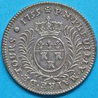 Photo numismatique  JETONS ANCIEN REGIME TOURAINE TOURS, maires Jeton de la mairie de Preuilly, 1755.