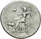 Photo numismatique  MONNAIES GRECE ANTIQUE MACEDOINE Rois de Macédoine, Alexandre III le Gd (336-323) Tétradrachme frappé vers 173/167 à Alabanda.