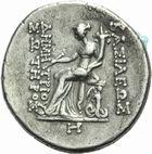 Photo numismatique  MONNAIES GRECE ANTIQUE ASIE MINEURE. Rois de SYRIE Démétrius Ier Soter (162-150) Tétradrachme frappé à Héraclée.