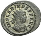 Photo numismatique  MONNAIES EMPIRE ROMAIN CARIN (César 282-283 - Auguste 283-285)  Antoninien.