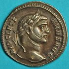Photo numismatique  MONNAIES EMPIRE ROMAIN DIOCLETIEN (284-305)  Argenteus.