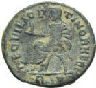 Photo numismatique  MONNAIES EMPIRE ROMAIN MAXIMIEN HERCULE (César 286-305 - Auguste 306-308, 310)  Bronze posthume frappé en 317-318.