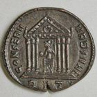Photo numismatique  MONNAIES EMPIRE ROMAIN MAXENCE (Princeps 306 - César 306 - Auguste 306-312)  Follis réduit.