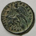 Photo numismatique  MONNAIES EMPIRE ROMAIN CONSTANCE II (César 324-337 - Auguste 337-361)  Maiorina.