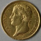 Photo numismatique  MONNAIES MODERNES FRANÇAISES NAPOLEON Ier, empereur (18 mai 1804- 6 avril 1814)  40 francs or.