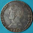 Photo numismatique  MONNAIES MODERNES FRANÇAISES JOSEPH NAPOLEON, roi des Espagnes et des Indes (1808-1814)  Douro de 20 reales.