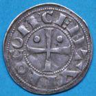 Photo numismatique  MONNAIES BARONNIALES Seigneurie de BEARN CENTULLE (XIIe - XIIIe siècles) Denier.