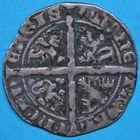 Photo numismatique  MONNAIES BARONNIALES Comté de HAINAUT MARGUERITE II d'Avesnes (1345-1356) Grande plaque.
