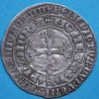 Photo numismatique  MONNAIES BARONNIALES Comté de FLANDRE LOUIS de MÂLE (1346-1384) Double gros botdraeger ou lion d'argent.